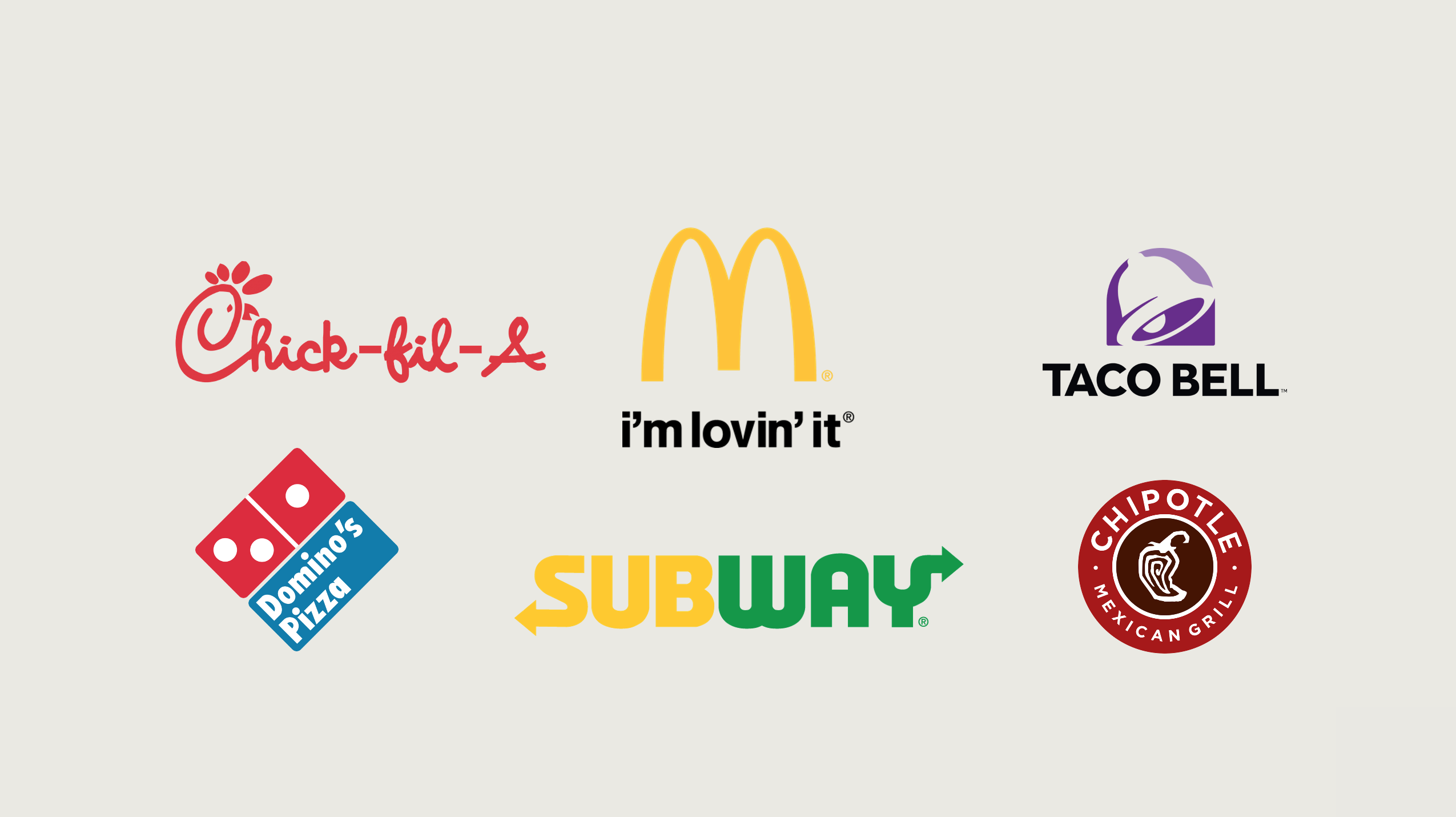fast food brands tmre